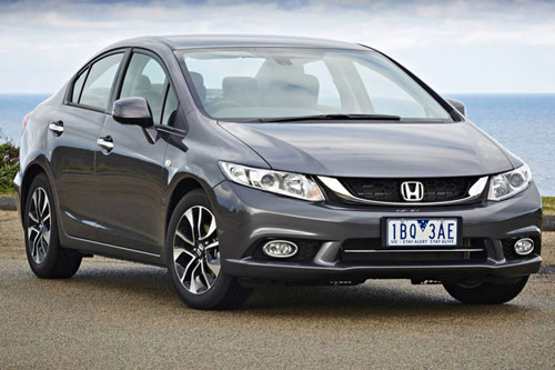 Honda Civic Phiên bản 2015 mới