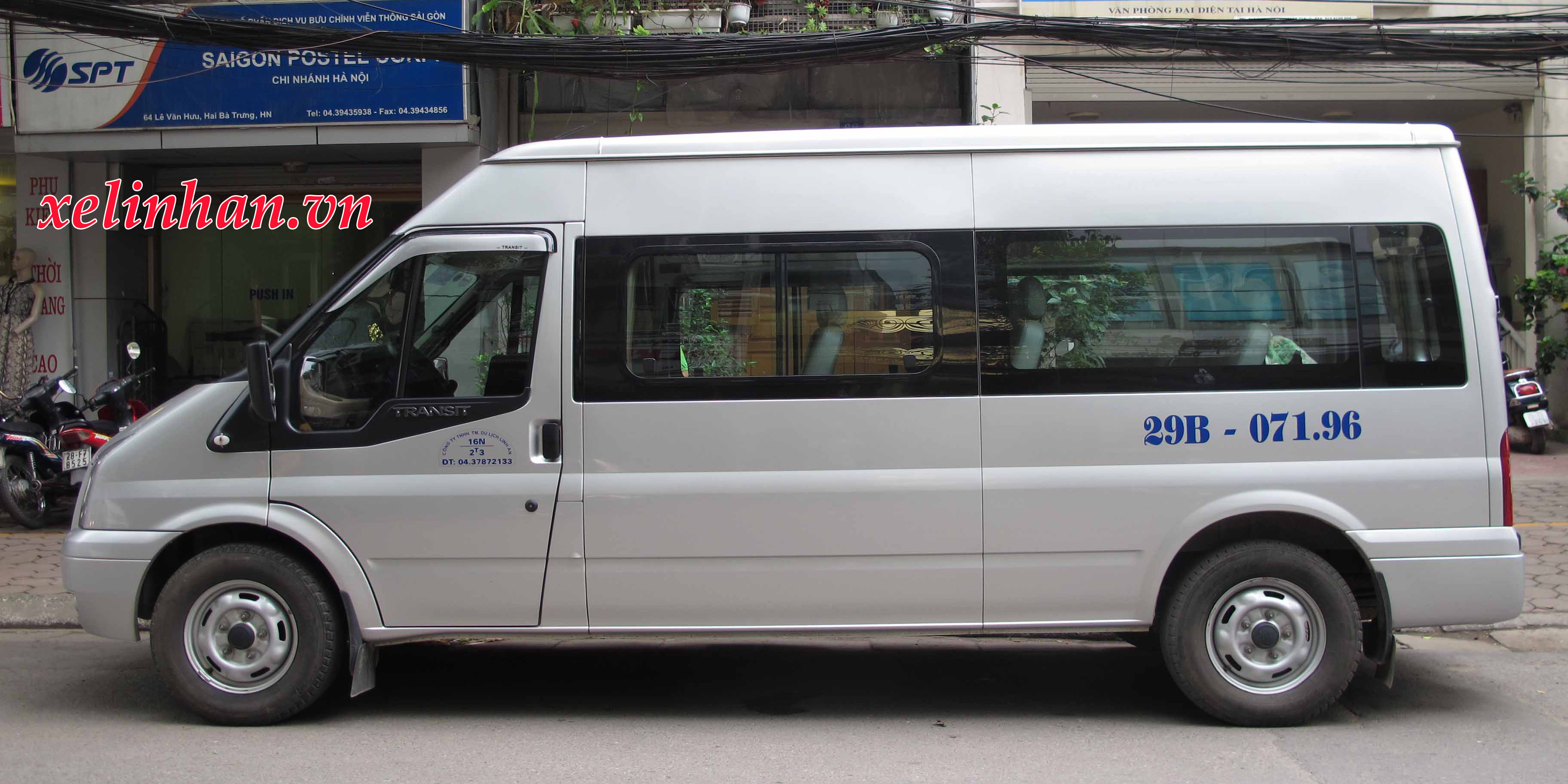 Xe cưới 16 chỗ - Ford transit
