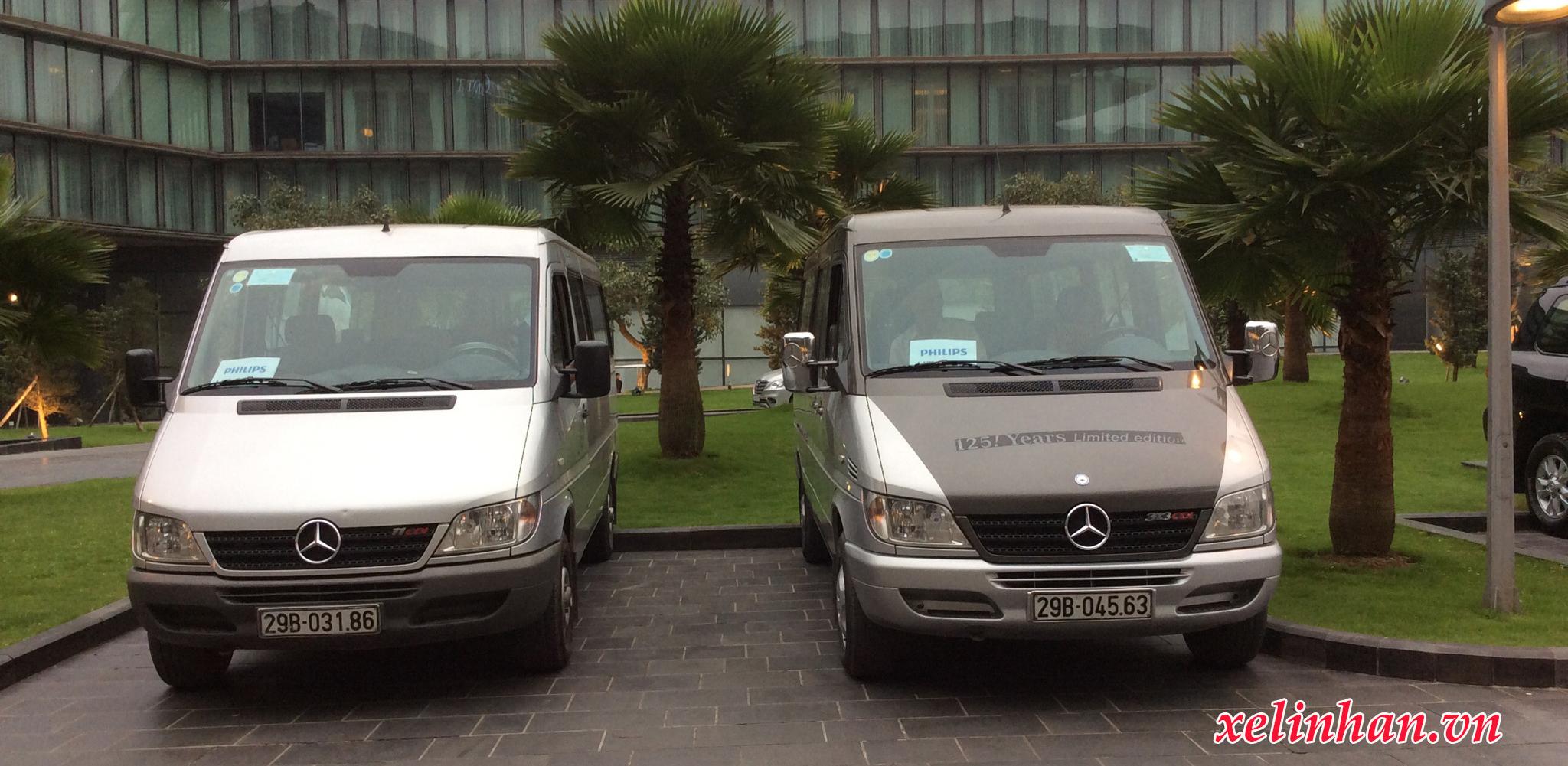 Xe 16 chỗ - Mercedes