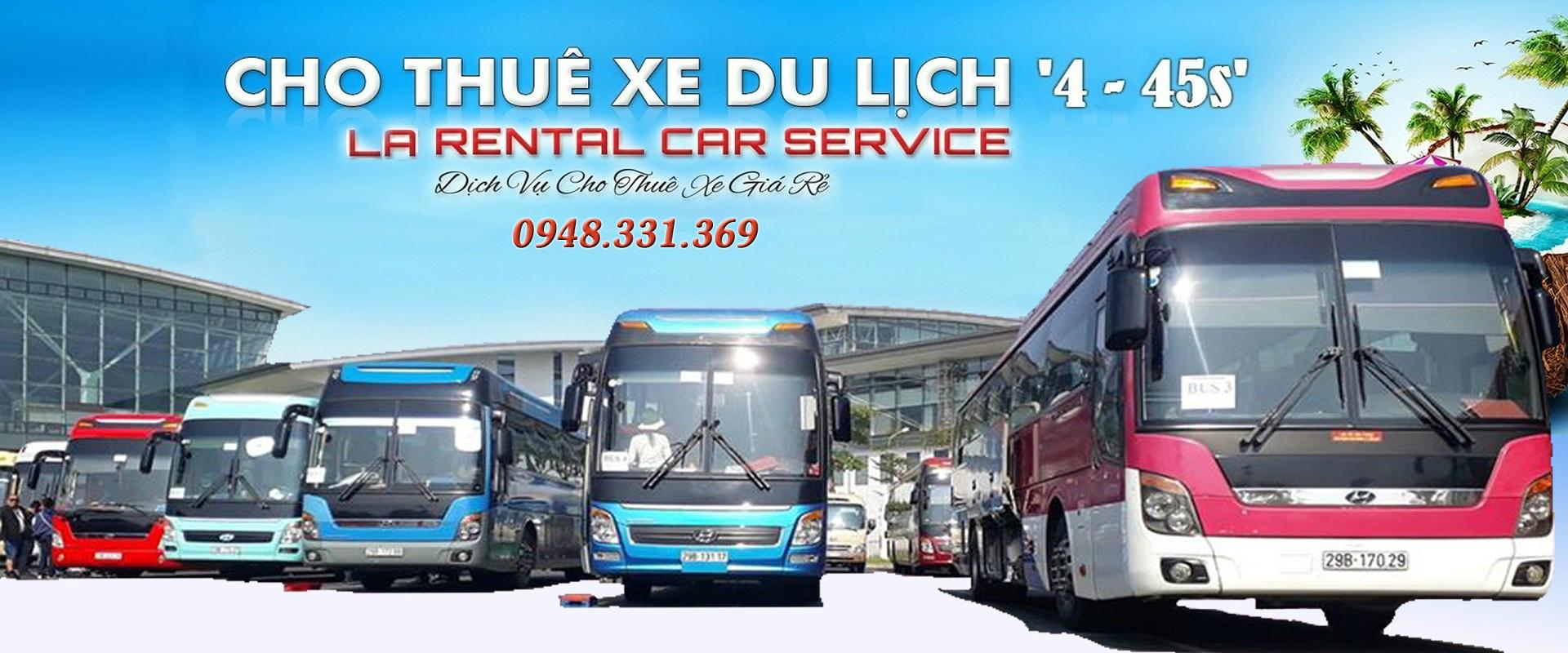 Cho Thuê xe du lịch từ 4 - 45 chỗ - Xe Linh An